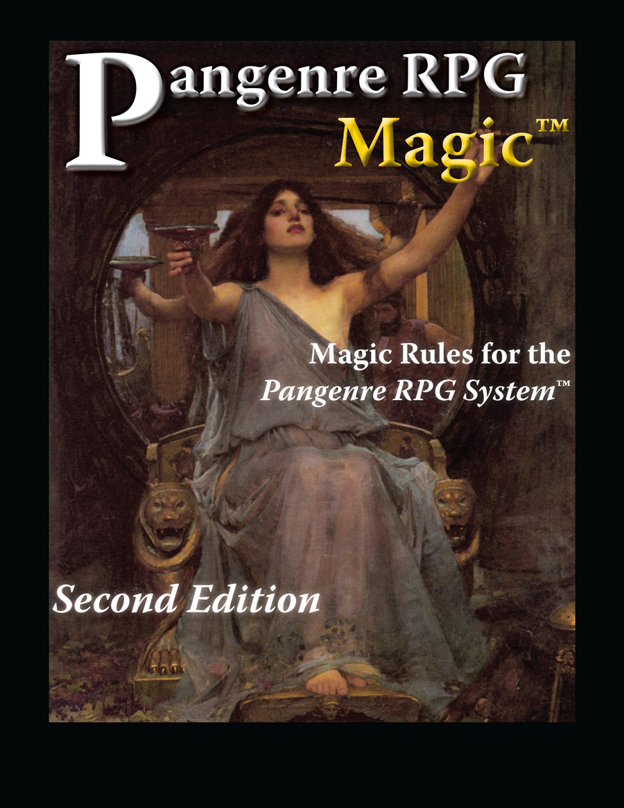 Pangenre RPG Magic Second Edition BETA